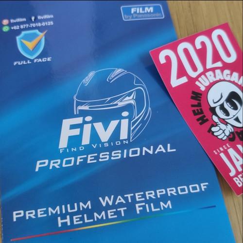 Foto Produk FIVI Find Vision PROFESSIONAL Water Repellent/Anti Air untuk Kaca Helm dari Juragan Helm ID