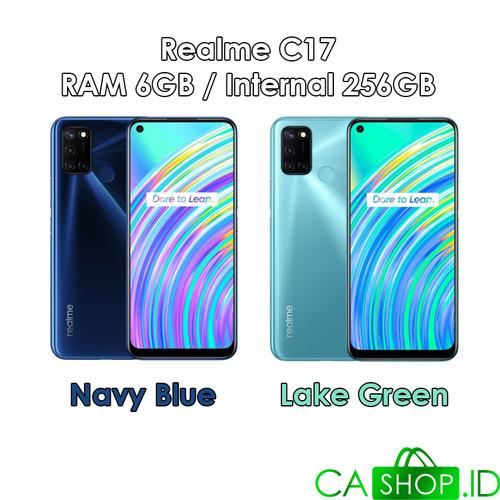 Foto Produk Realme C17 - 6GB 256GB (6/256) - New Original Garansi Resmi - Navy Blue dari CA Shop