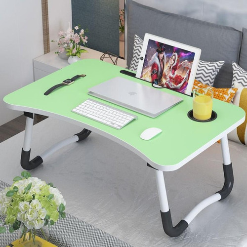 Foto Produk Meja lipat portable Meja belajar serbaguna - Hitam dari SmartClick