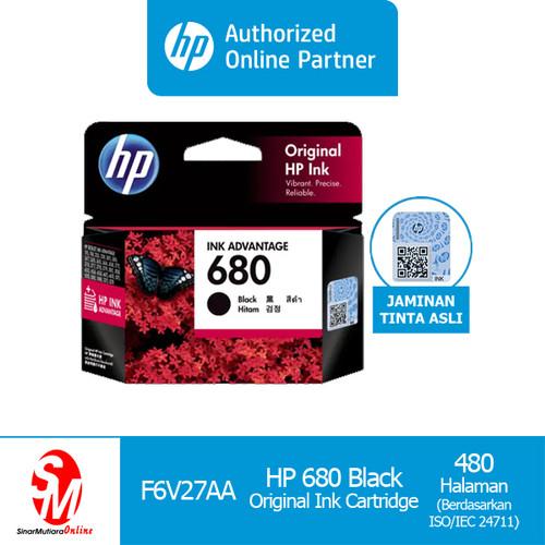 Foto Produk HP Cartridge 680 Black dari Sinarmutiara Online
