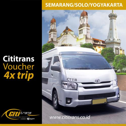Foto Produk Voucher Langganan Shuttle Cititrans Travel Semarang/Solo/Yogyakarta dari Cititrans Indonesia