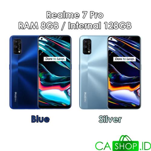 Foto Produk Realme 7 Pro - 8GB 128GB (8/128) - New Original Garansi Resmi - Blue dari CA Shop