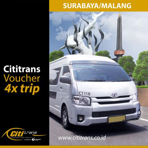 Foto Produk Voucher Langganan Shuttle Cititrans Travel Surabaya/Malang dari Cititrans Indonesia