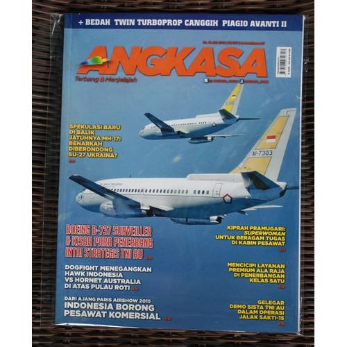 Foto Produk Majalah Angkasa No. 10 Tahun 2015 dari Airspace Review