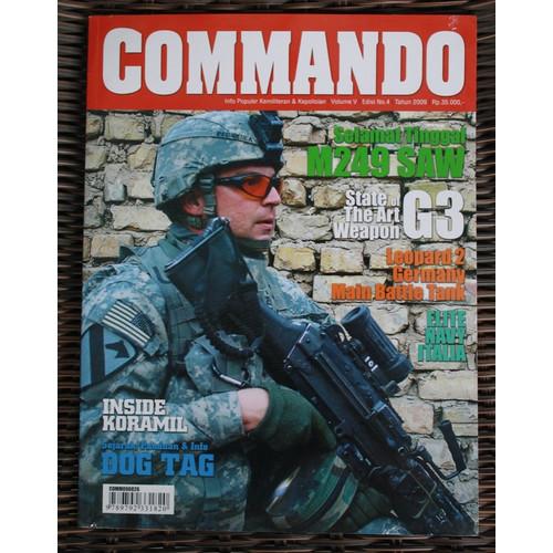 Foto Produk Majalah Commando Edisi No. 4 Tahun 2009 dari Airspace Review