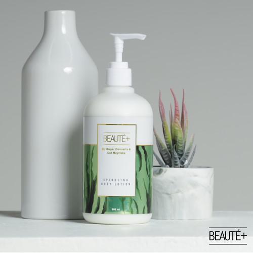 Foto Produk Beaute+ Spirulina Body Lotion by Roger & Cut Meyriska   Beaute Plus dari Beauteplus Official
