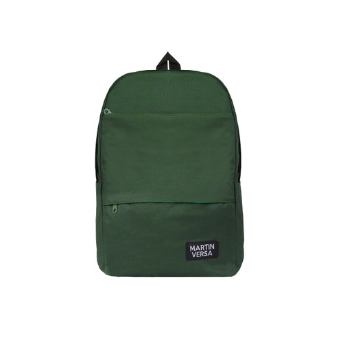 Foto Produk Martinversa TR20 Tas Ransel Pria Backpack Men Laptop Kanvas - Hijau dari Martin Versa