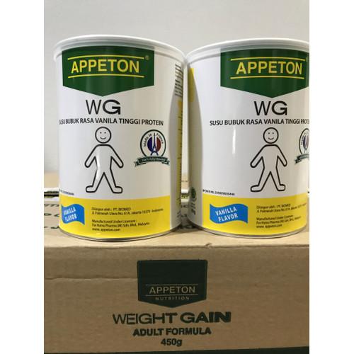 Foto Produk Appeton Weight Gain Susu Untuk Gemuk Rasa Vanilla (Dewasa) - 450 Gram dari cometobuy
