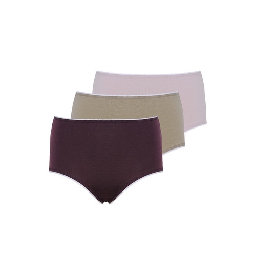 Foto Produk Tulip Misty Maxi Panty Bundling 3pcs - MI - TPY-1960 - L dari Tulip Underwear