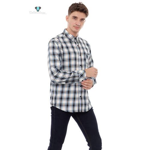 Foto Produk Kemeja Lengan Panjang Pria Cottonology Westland Biru - XXLarge dari Cottonology Indonesia