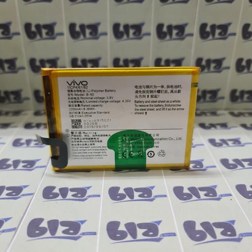 Foto Produk Batre Baterai Battery Batere Vivo Y35 B-92 - B92 Original 100% dari BLA STORE