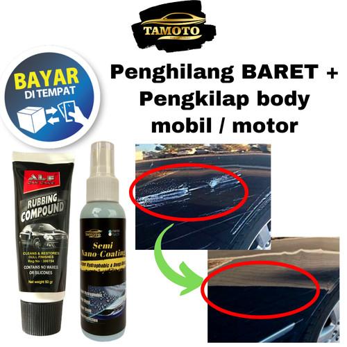 Foto Produk Rubbing Compound / Kompon penghilang BARET / GORESAN body mobil motor dari TAMOTO_Official