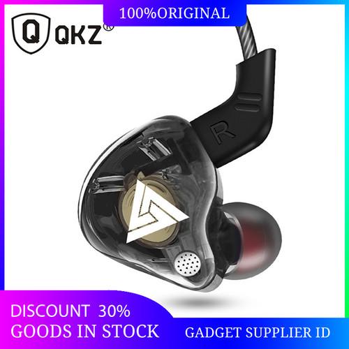 Foto Produk QKZ AK6 Earphone Headset Super Bass Dual Driver HiFi Gaming Headset - Hitam dari Gadget Supplier ID