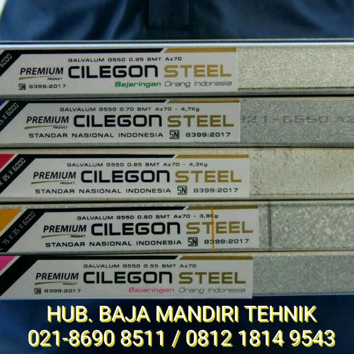 Foto Produk Baja Ringan SNI Cilegon Steel G550 Sticker Biru 4.71 kg dari Atapzinctruss