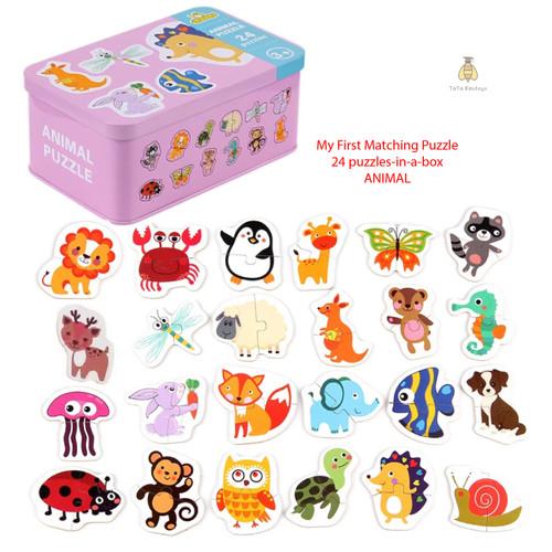 Foto Produk My First Matching Puzzle 24 pc | Tata Edutoys - Animal dari Tata_edutoys