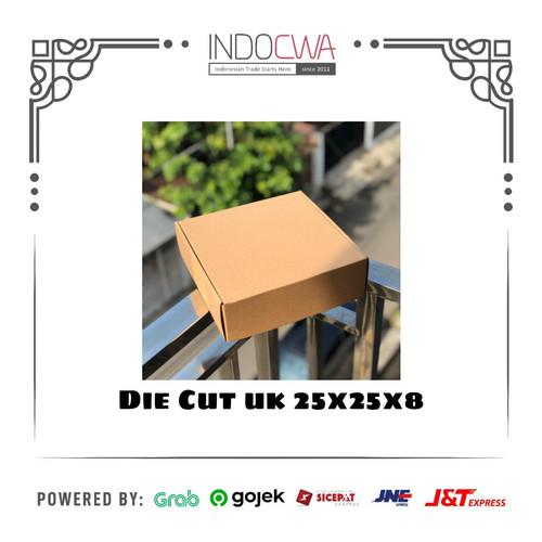 Foto Produk Kardus Box Karton Polos Die Cut Uk 25x25x8 dari IndoCwa