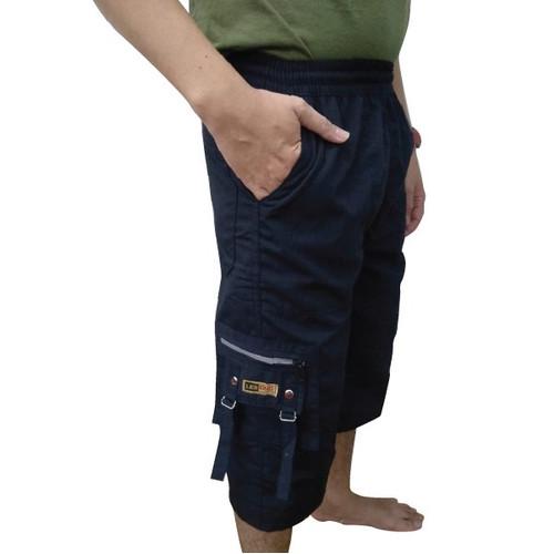 Foto Produk KAYSER Lebond Celana Panjang Cargo katun Pangsi Sirwal - HIJAU TUA dari kayser official