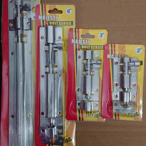 """Foto Produk Grendel Pintu Stainless 6""""inch/Selot Pintu/Grendel Panjang 6 inchi dari Midlands"""