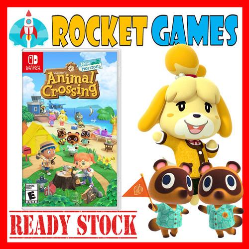 Foto Produk Nintendo Switch Animal Crossing New Horizons USA / MDE - REG USA dari Rocket games