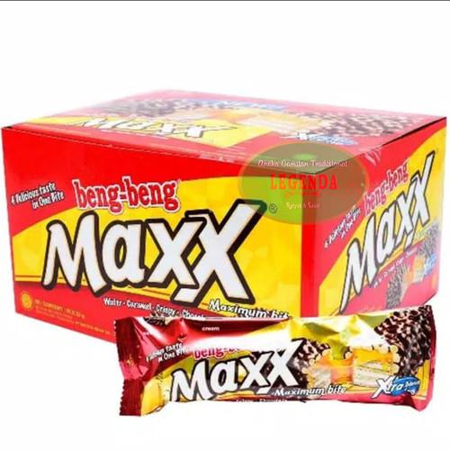 Foto Produk Beng Beng Maxx 1box isi 12pcs @32gr dari Legenda Snack