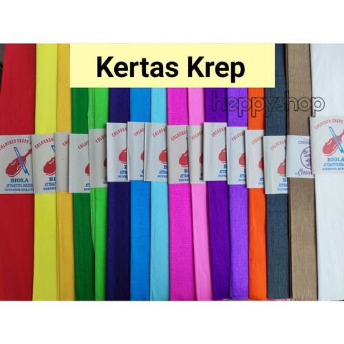 Foto Produk Kertas Krep - Merah dari heppyshop heppy