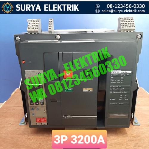 Foto Produk Air Circuit Breaker ACB SCHNEIDER 3200A 3200 AMPER NW32 H1 NW32H1 3P dari SURYA-ELEKTRIK