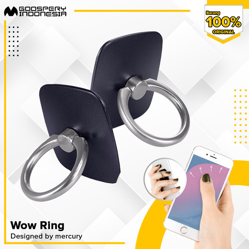 Foto Produk Goospery Wow Ring Stand Holder i-ring Campaign Deal - Red dari Goospery Indonesia