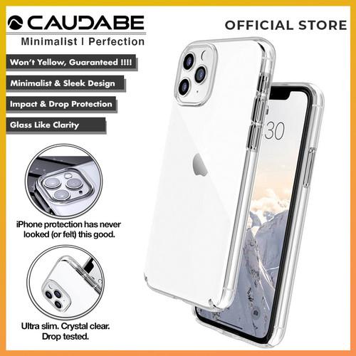 Foto Produk Original Caudabe Lucid Clear Case iPhone 11 Pro Max 11 Pro 11 Casing - iPhone 11ProMax, Clear dari Caudabe Official