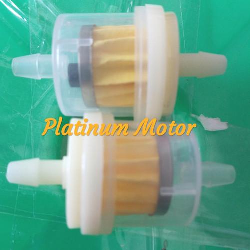 Foto Produk Filter Bensin Transparan Universal Honda Yamaha Suzuki Kawasaki dari Platinum Motor TGR