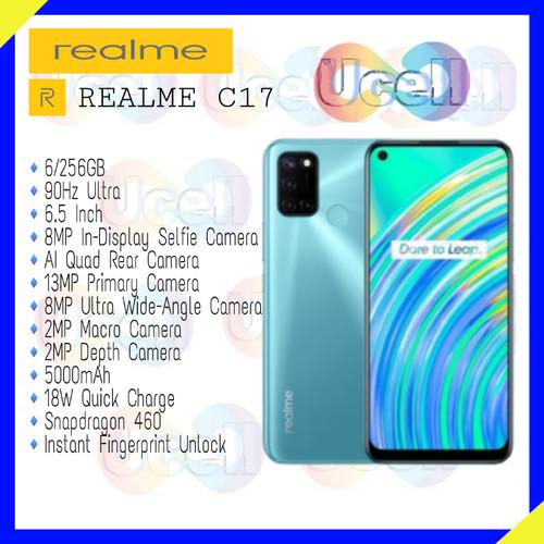 Foto Produk Realme C17 - 6GB/256GB - Garansi Resmi - Biru dari ucell cempaka