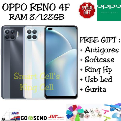 Foto Produk OPPO RENO 4F 8/128GB GARANSI RESMI OPPO INDONESIA - Hitam dari smart cell's