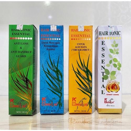 Foto Produk Hair Tonic Essential 100 ML Original 100% SUDAH BERSEGEL - Hijau dari Resellori Indonesia