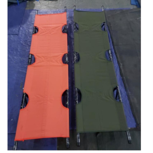 Foto Produk Tandu Besi Lipat Dua PMI - Orange dari ShaumyTendaBandung
