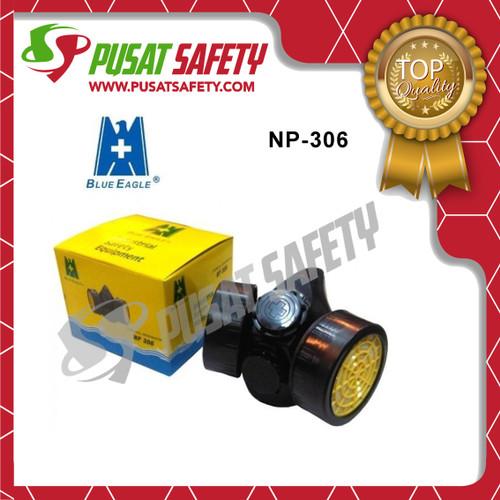 Foto Produk Masker Chemical Respirator Double NP306 Blue Eagle Original dari Pusat Safety Online