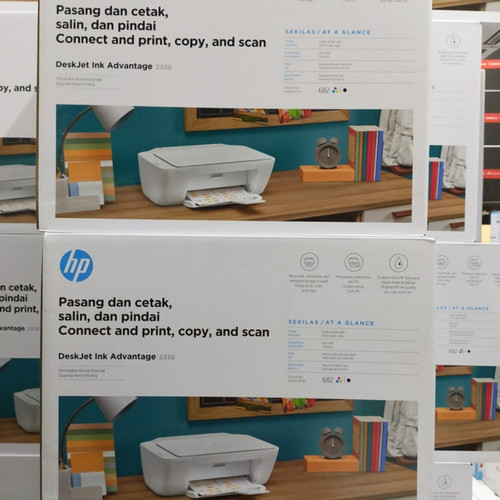 Foto Produk Printer HP Deskjet 2135 Ink Advantage - New Original - 2336 White dari Print Scan Copy