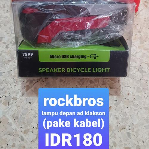 Foto Produk Lampu sepeda rockbros dari Dee Collection