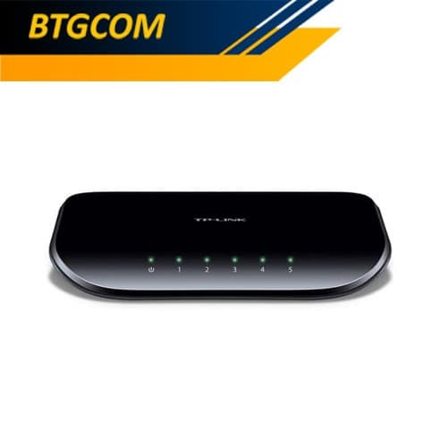 Foto Produk TP-Link TL-SG1005D 5-Port Gigabit Desktop Switch / TPLink TLSG1005D dari BTGCOM
