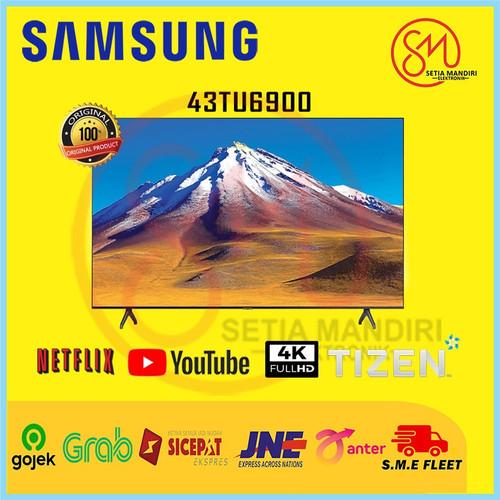 Foto Produk SAMSUNG 43TU6900 Crystal UHD 4K Smart TV 43 Inch UA43TU6900 dari Setia Mandiri Elektronik