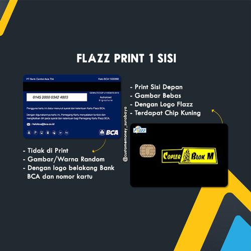 Foto Produk JUAL Custom Flazz / Etoll BCA 1sisi dari Custom E-Toll Surabaya
