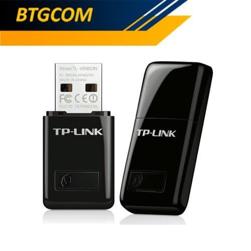 Foto Produk TP-Link TL-WN823N 300Mbps Mini USB Wifi Adapter TPLink TLWN823N 823N dari BTGCOM