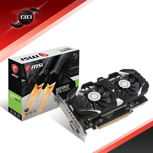 Foto Produk MSI GeForce GTX 1050 Ti 4GB DDR5 - 4GT OC dari COC Komputer
