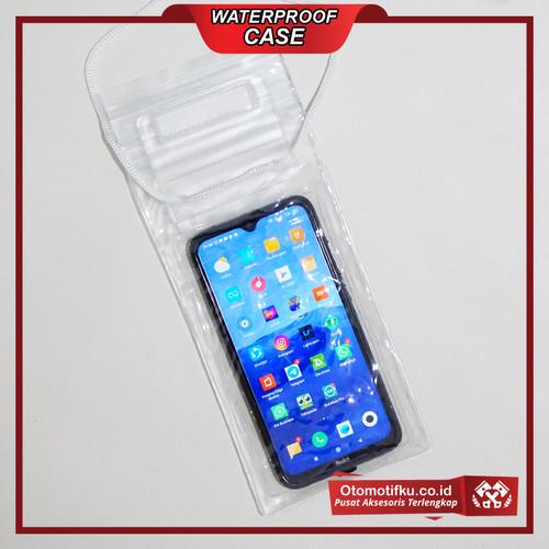 Foto Produk Waterproof Case Hp Size XL Anti Air Sensitive Touch Termurah - Putih dari Otomotifku Official