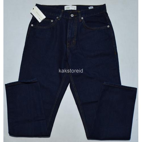 Foto Produk Celana Panjang Pria Jeans COLE Denim Tua Straight Fit JCT 12 ORIGINAL - 30 dari kakstoreid