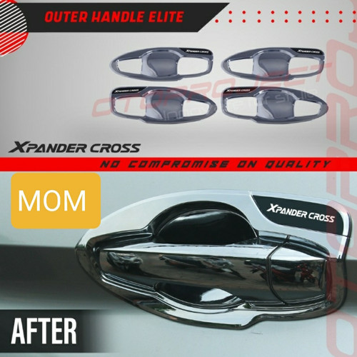 Foto Produk Outer handle mangkok pintu elite chrome Otoproject Xpander Cross dari Mega Oriental Motor