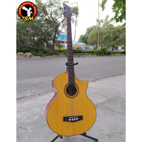 Foto Produk Gitar Bass Akustik CORT DOUBLEROUND dari Jasmin Sport