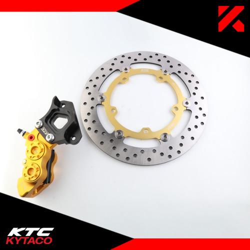 Foto Produk Kaliper 4P MTF XMAX + Piringan XMAX CDB-25 KTC KYTACO dari KTC KYTACO