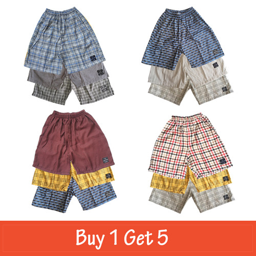 Foto Produk Cottonology Celana Boxer Buy 1 get 5 ( Random ) - XXL dari Cottonology Indonesia