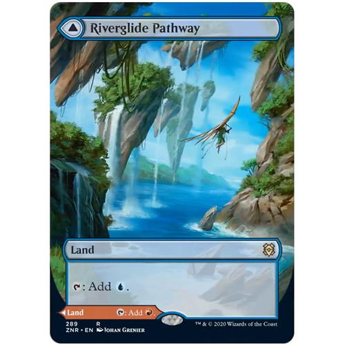Foto Produk MTG SINGLES : Riverglide Pathway // Lavaglide Pathway (Borderless) dari Hikarina Store