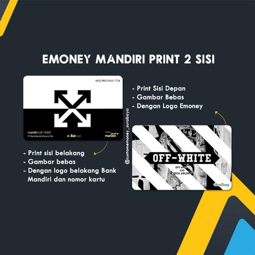 Foto Produk Jual Custom E-Toll / emoney mandiri 2 sisi dari Custom E-Toll Surabaya