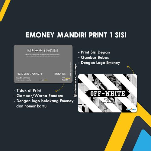 Foto Produk Custom E-Toll / emoney mandiri 1 sisi dari Custom E-Toll Surabaya